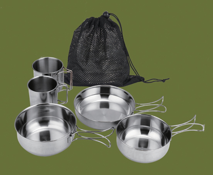 Picture of 5 piece Stainless Steel Mess Kit